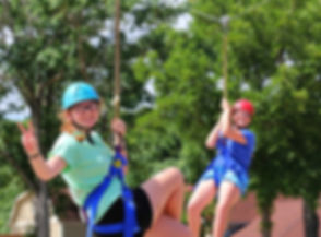Glen Lake Camp and Retreat Center | Summer Camp | Junior High | Zip Line