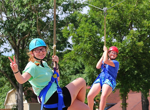 Glen Lake Camp and Retreat Center | Summer Camp | Junior High | Zip Line