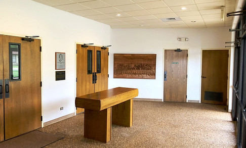 Ogle Chapel Foyer | Glen Lake Camp and Retreat Center
