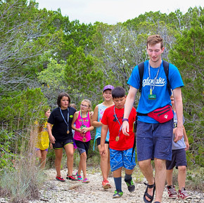 Glen Lake Camp & Retreat Center | Guest Retreats | Summer Camp | Central Texas | Christian Camp | Hike to the Cross
