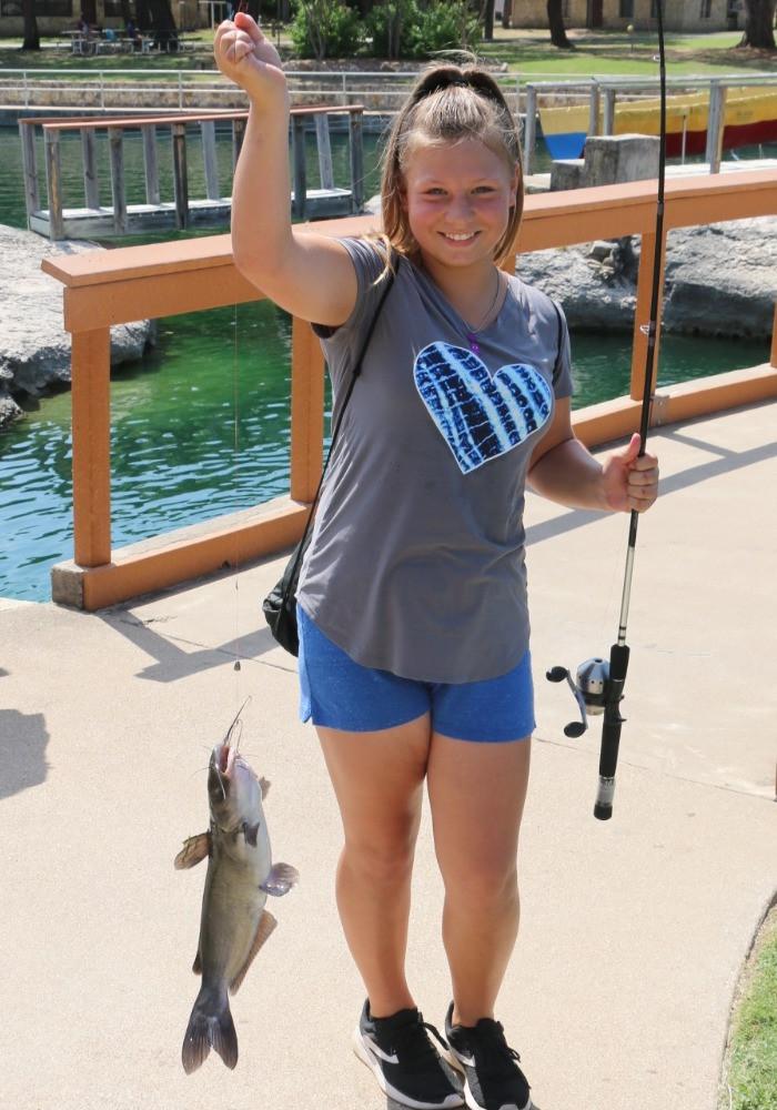Fishing at Glen Lake Camp