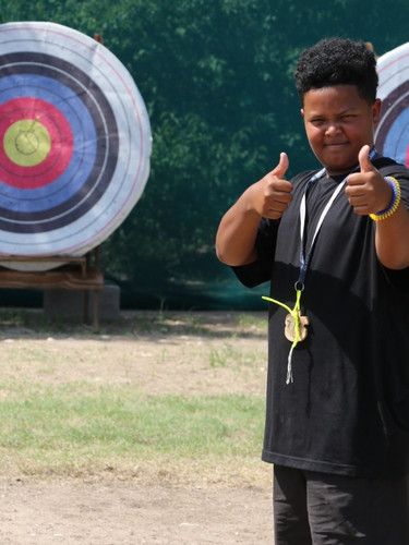 Archery at Summer Camp