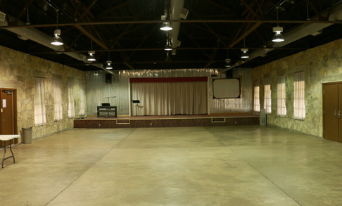 Siceloff Front View of Stage | Glen Lake Camp and Retreat Center