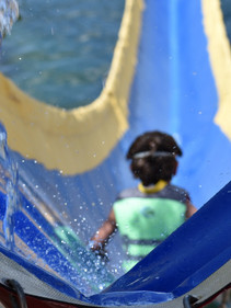 Summer Camp Water Slide