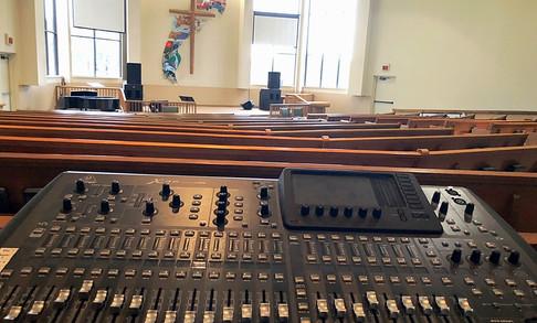 Ogle Chapel Soundboard | Glen Lake Camp and Retreat Center