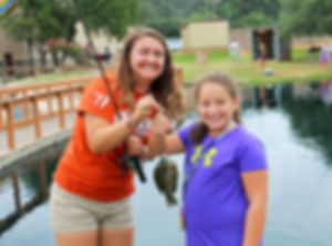 Glen Lake Camp & Retreat Center | Guest Retreats | Summer Camp | Central Texas | Christian Camp | Fishing