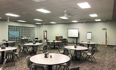 Reception Room | Glen Lake Camp and Retreat Center