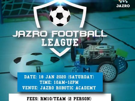 JAZRO Monthly Game 2020 Pertama (JAN 2020:JAZRO Football League)