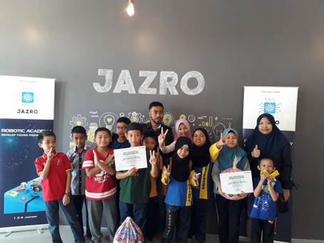 JAZRO Monthly Game (FEB 2020: Arduino Robot Maze Challenge)