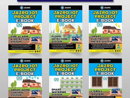 Pelancaran JAZRO Ebook (JAZRO IOT Project Ebook & JAZRO Mbot Ebook )
