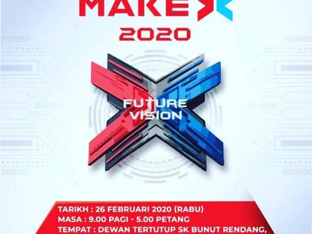 Bengkel Taklimat MakeX 2020 peringkat Negeri Pahang