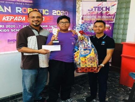 Pertandingan Robotik Kuala Terengganu 2020 (Anjuran bersama JTECH BERHAD)