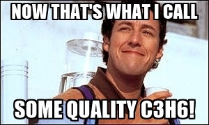 Winter woes? C3H6 has got your six. (MAPP Gas vs Propane)