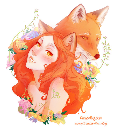 Goddess of the Fox and Summer