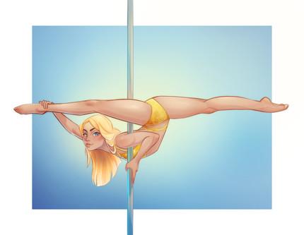 Pole Dance Character