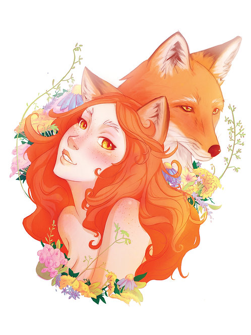Fox Spirit | 11x17 Print