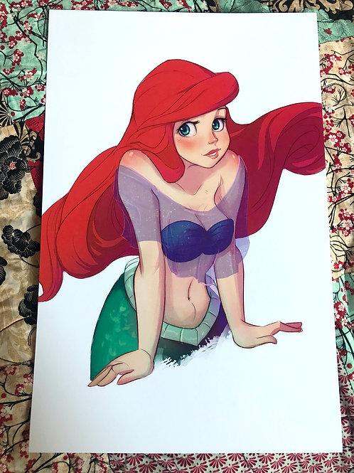 Little Mermaid | 11x17 Print