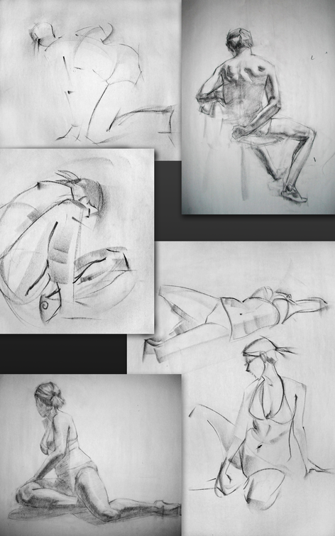Figure and Gesture Drawings