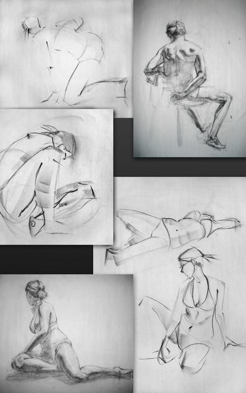 Figure and Gesture Drawings