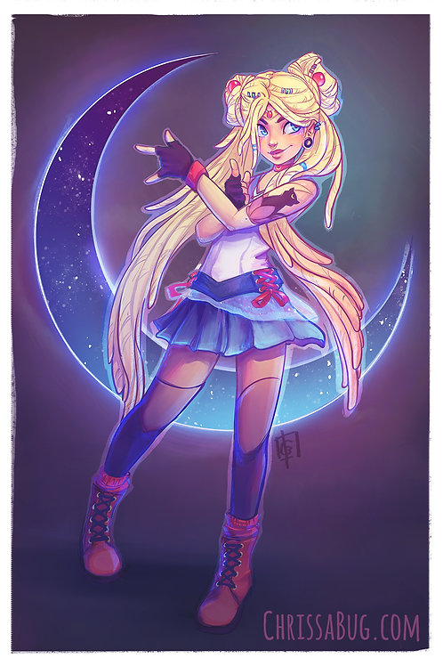Sailormoon | 11x17 Print