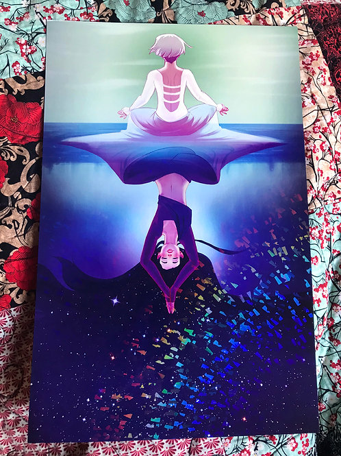 Meditation | 11x17 Print