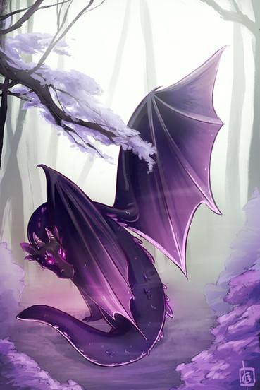 Misty Spring Dragon