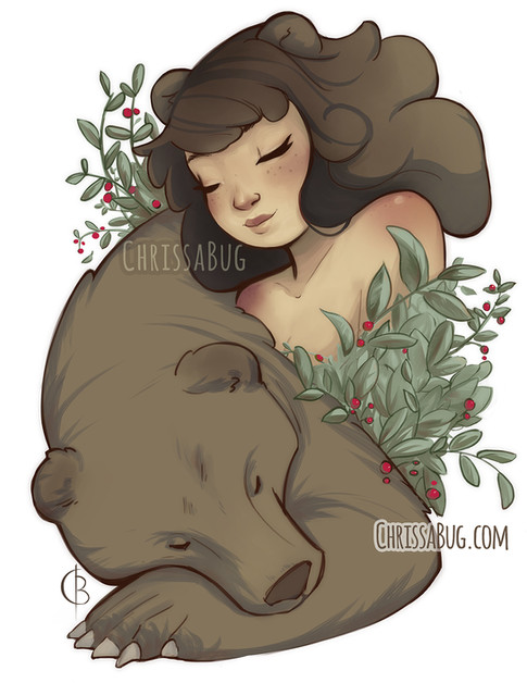 Goddess of the Bear and Winter