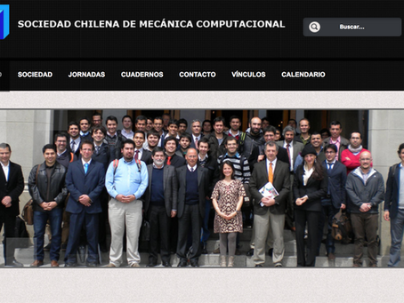 Chilean Society of Computational Mechanics has a new Directive Board