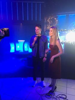 Presenting for Ciroc TV