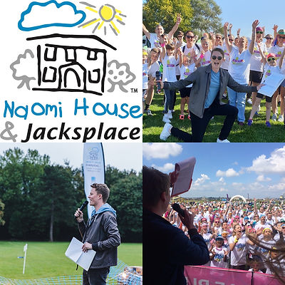 Robbie Hosting for Naomi House & Jacksplace