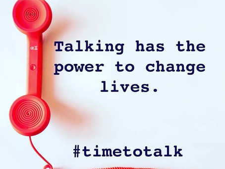 Time to talk: Mental Health Awareness