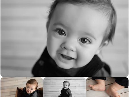 6 month sitter Session – Yukon, OK - Photos by Keshia
