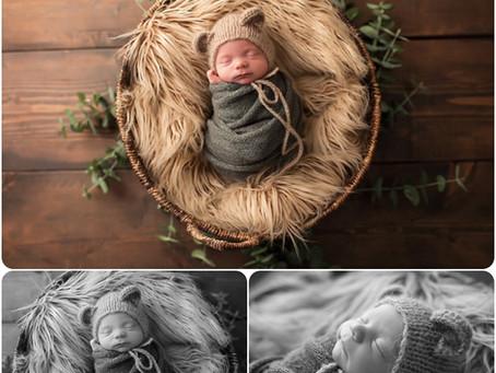 Newborn Photographer – Yukon, OK - Photos by Keshia