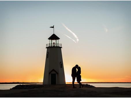 Engagement Session – Lake Hefner OKC - Photos by Keshia