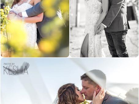 Mr. & Mrs. Robinson  - Wedding  - Photos by Keshia