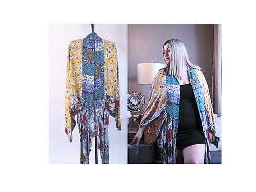 Multicolor Kimono