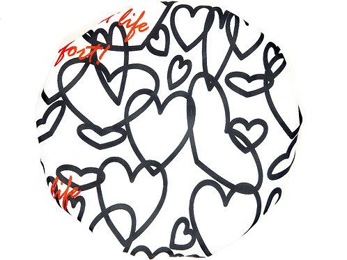 Spa/Shower Cap - Love My Hearts