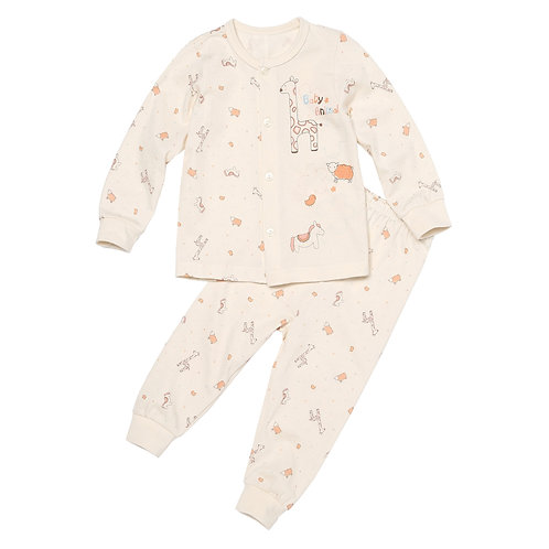 Organic Newborn Baby Animal Pajamas