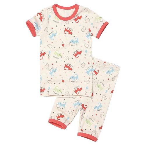 Love Cat Organic Pajamas