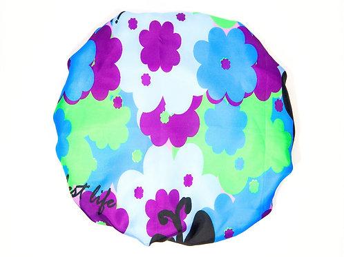 Spa/Shower Cap - Full of Flowers