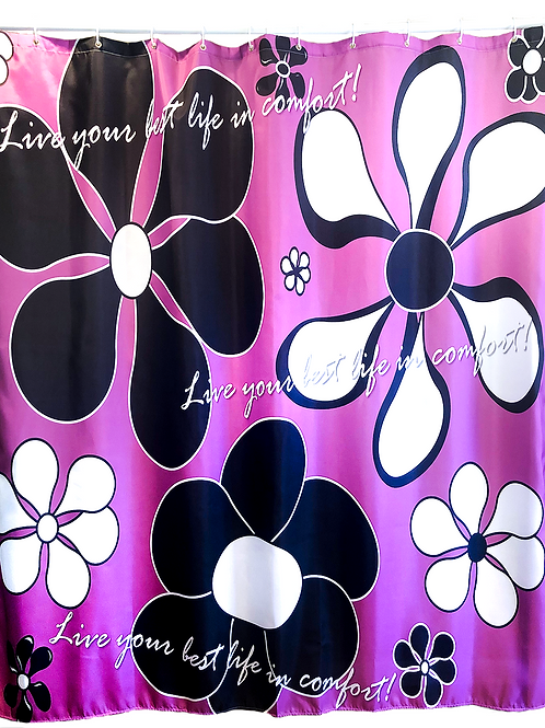 Flowers Blooming - Shower Curtains