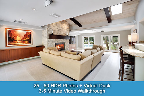 HDR Photos & Video Package