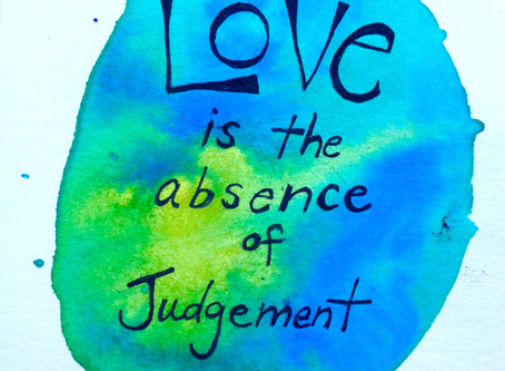 From Judgment to Love