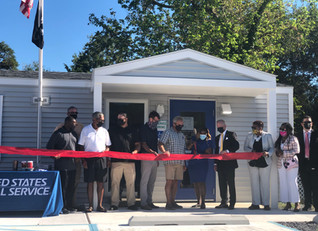 Officials, Community Celebrate Whitesboro Post Office's Opening