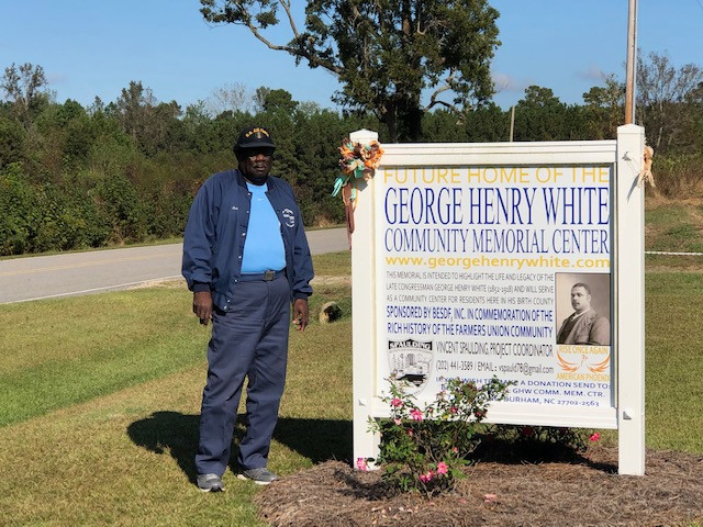 Ocie Jones Chosen as George Henry White Awardee