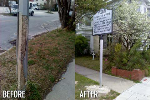 Highway Marker Restoration