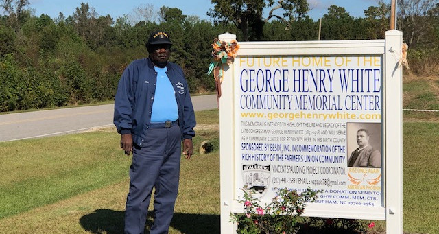 Ocie Jones Chosen for George Henry White Pioneer Award 2020