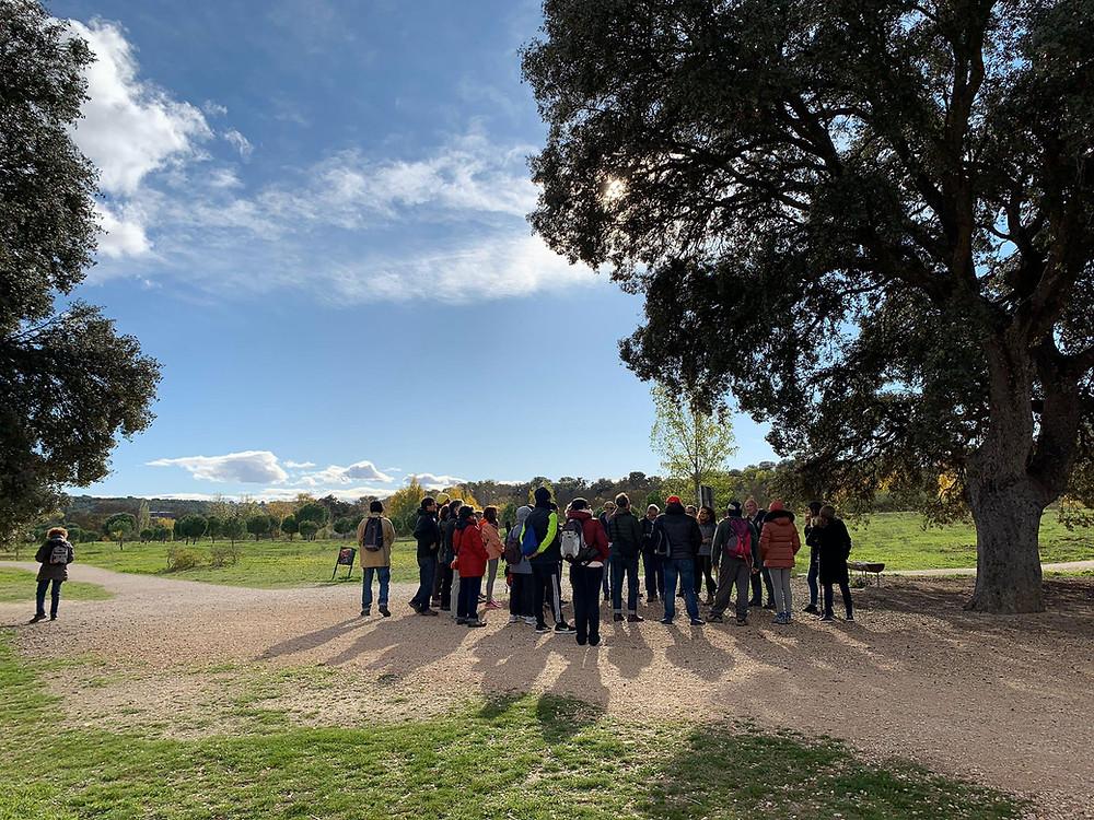 Encuentro en Mingorrubio, El Pardo. Foto: Álvaro Aulló