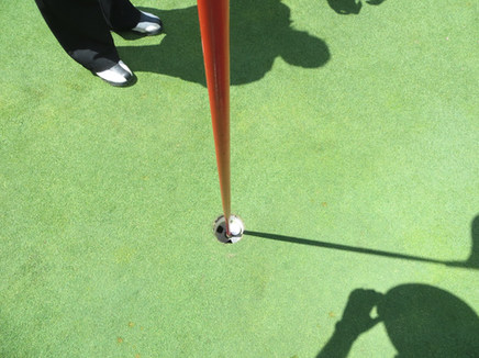 Hole in One at the Golf Tournament