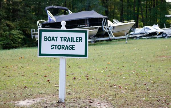 Boat Trailer Storage